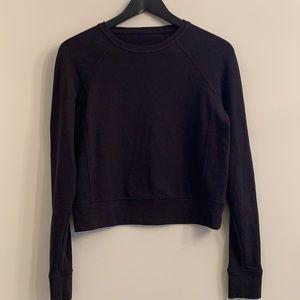 LULULEMON | black sweatshirt